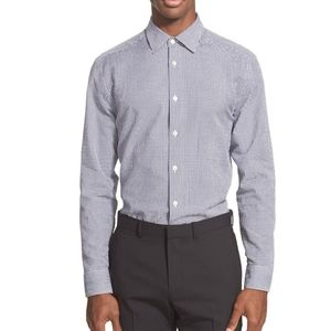Ben Sherman Slim Fit Gingham Button Down Shirt